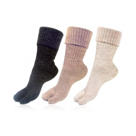 Womens Full Length Woolen Socks
