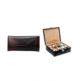 Borse Long Wallet And Watch Case Combo
