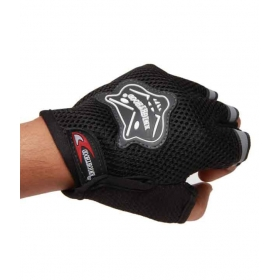 Gloves Half - Black - Size (xl)