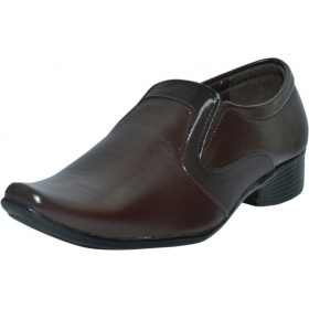 Men Formal Brown Colour Slip On Shoes