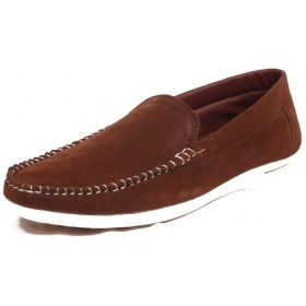 Contablue Penny Loafers Shoes (brown)