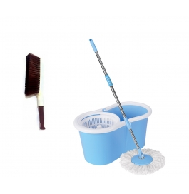 Vinayaka Car Carpet Brush With 360* Mop