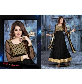 Creations Net Black Gowns