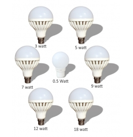 7 Led Bulbs Combo