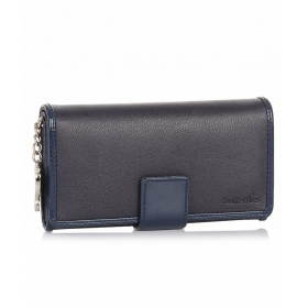 Blue Non Leather Women Wallet