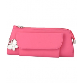 Butterflies Pink Clutch