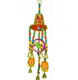 Bell Ring Parrot Hanging