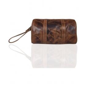 Calfnero Tan Solid Duffle Bag