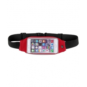 Water Proof Waist Pouch For All Phone-red