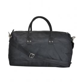 Canvas & Awl Black Solid Duffle Bag
