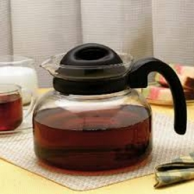Carafe Pot With Strainer In Lid - 1 Litre