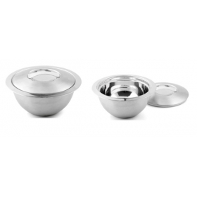 Stainless Steel Thermo Bowl : 2 L