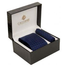 Cazzano Blue Printed Micro Fiber Combo