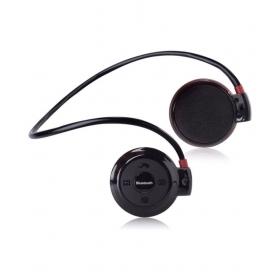 Celltool Mini503127 Compatible Iball Smartphones Wireless Bluetooth Headphone Red