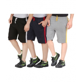 Multi Shorts Pack Of 3