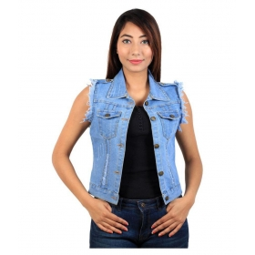 Denim Band Jacket