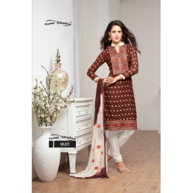 Fancy Fabrics Office / Daily Wear Semi Stitched Salwar Kameez