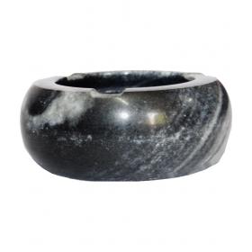 Black Marble Decorative Ash Tray