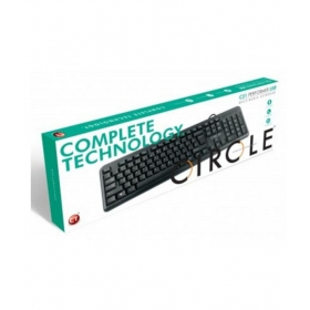 Circle C21 Usb Black Usb Wired Desktop Keyboard