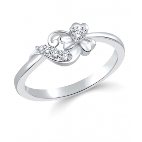 Rhodium Plated Ring For Women Size 11 [cj1007frr11]