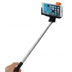 Selfie Stick With Inbuilt Bluetooth For All Android And Iphones - Multicolour