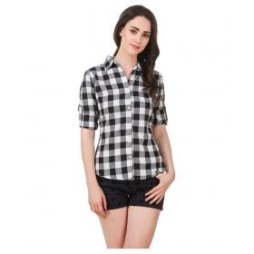 Checks Multi Color Full Sleeves Cotton Shirt