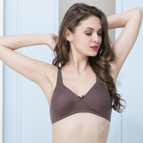 Cotton Rich Non-padded Full Cup T-shirt Bra