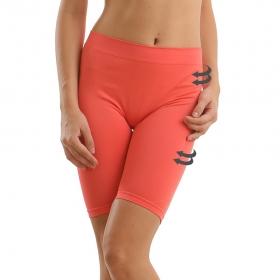 Coral Orange Thigh Shaper