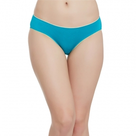 Modal Mid Waist Bikini With Medium Coverage