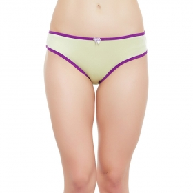 Mid Waist Bikini With Medium Coverage