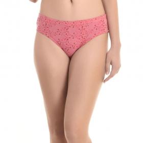 Cotton High Waist Panty - Pink