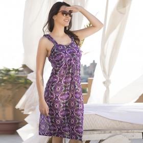 3d600cce6b Printed Ruffle Strap Beachdress