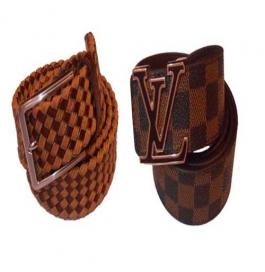 B.s.chadha Group Men Formal Brown Genuine Leather Belt