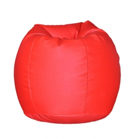 Xl Bean Bag With Beans In Red