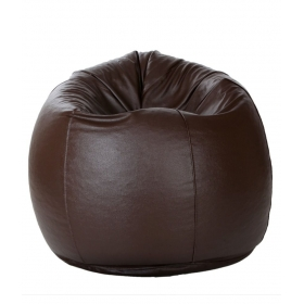 Xxl Bean Bag With Beans In Brown