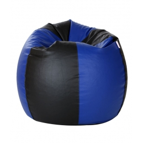 Xxxl Bean Bag With Beans In Blue & Black