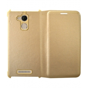 Coolpad Note 5 Flip Cover By Rdcase - Golden