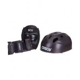 Cosco Black Protective Skating Kit
