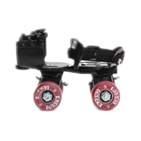 Cosco Black & Red Roller Skates