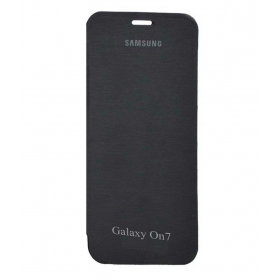 Coverage Flip Cover For Samsung Galaxy On7-black