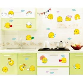 Ay6060 Fancy Eggs Cartoons Wall Sticker  Jaamso Royals