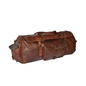 Craftworld Brown Duffle Bag