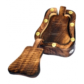 Wooden Handicrafted Tea Coaster Set