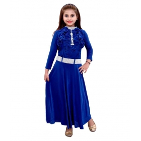 Blue Party Wear Dress