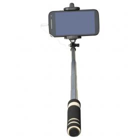 Crazy Fashions Black Monopod Pocket Selfie Stick Iphones, Samsung, Panasonic P81, Lenovo A7000