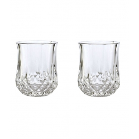 2 Pcs Glass Bar Set