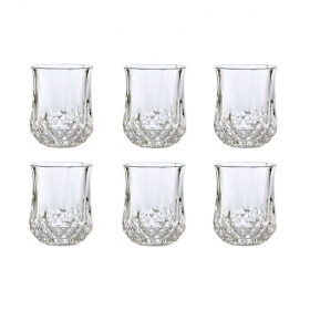 Designer 6 Pcs Glass Bar Set