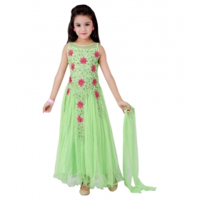 Green Lehenga Choli Set