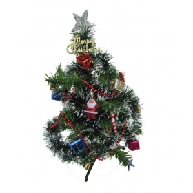 Christmas Tree With Decoration Gifts-2 Ft- (pack Of 1)