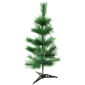 Creativity Centre Multicolor Plastic Christmas Tree-2 Ft (pack Of 4)